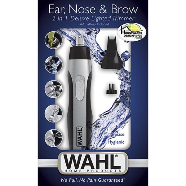 Wahl 2-headed Lighted Nose Trimmer