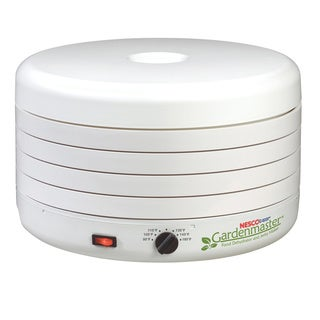 Nesco American Harvest Gardenmaster FD-1010 White 1000-watt Foods Dehydrator