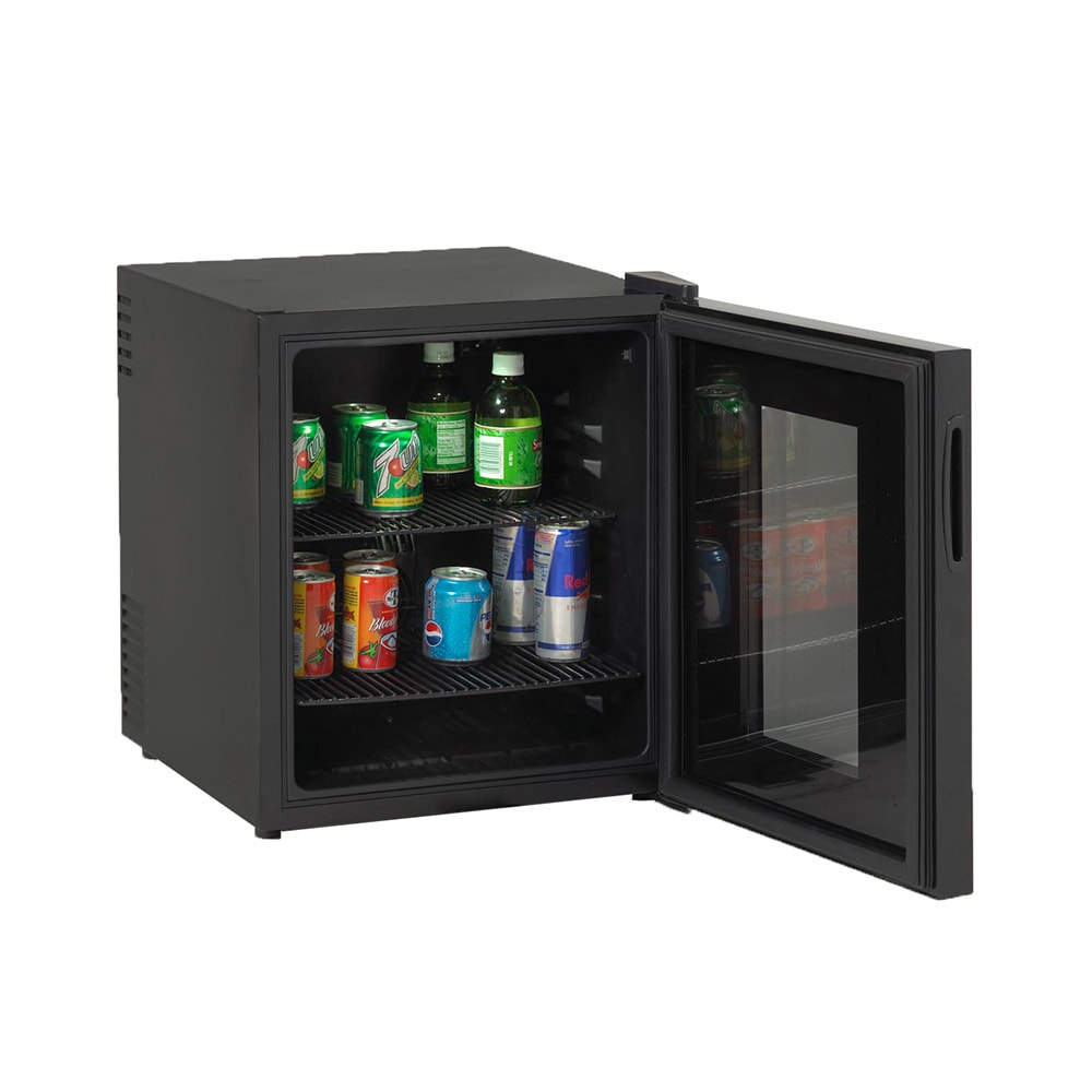 Avanti Superconductor Beverage Cooler with Glass Doors, B...