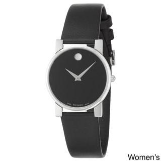 Movado Museum Men's or Women's Black Dial Watch