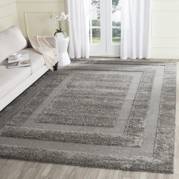 Safavieh Ultimate Dark Grey Shag Rug (8' x 10')