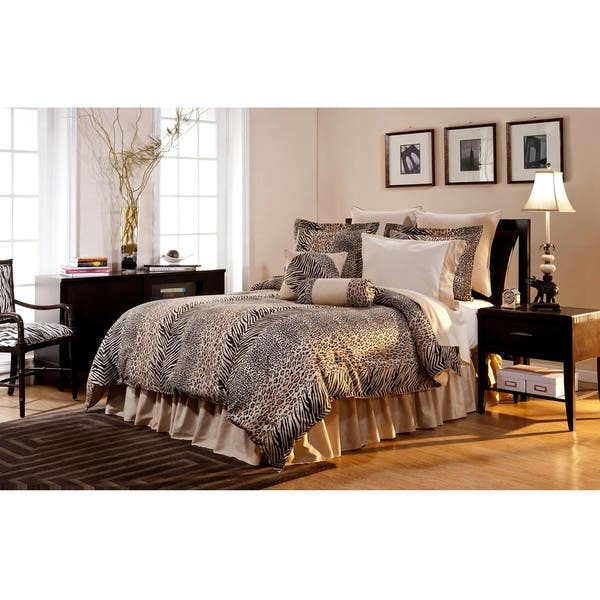 Urban Safari King-size 8-piece Comforter Set - Multi