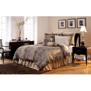 Urban Safari Full-size 12-piece Bed in a Bag with Sheet Set