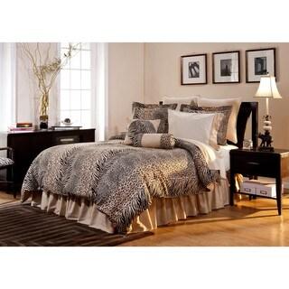 Urban Safari California King-size 12-piece Bed in a Bag with Sheet Set