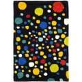 Safavieh Handmade Soho Space Modern Abstract Black Wool Rug - 2' x 3'