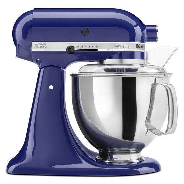 Shop Kitchenaid Rrk150bu Cobalt Blue 5 Quart Artisan Stand