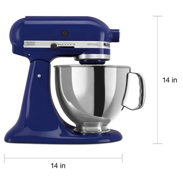 Shop KitchenAid RRK150BU Cobalt Blue 5-quart Artisan Stand ...