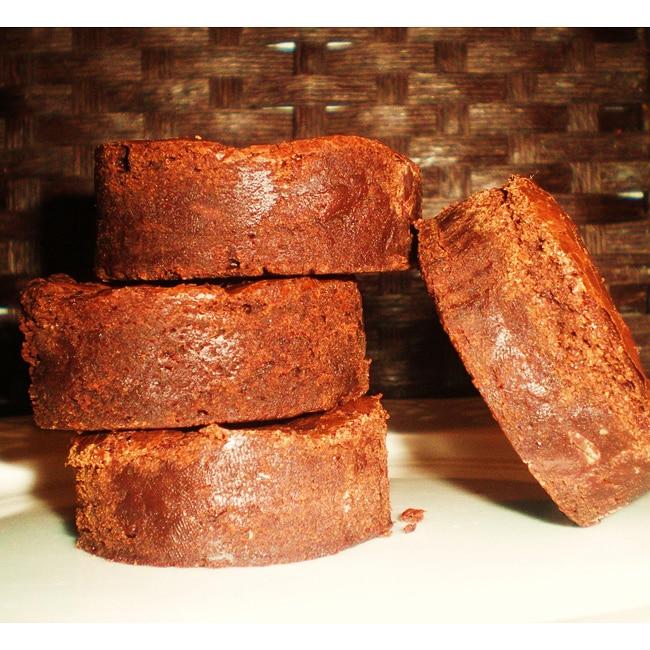 Organic Chocolate Fudge Brownies (Pack of 6)