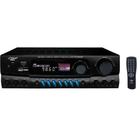 PylePro PT560AU AM/FM Receiver - 300 W RMS - 2 Channel