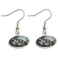 New York Jets Dangle Logo Earring Set