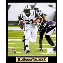New York Jets #21 LaDainian Tomlinson Plaque