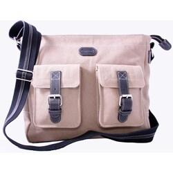 Leatherbay Downtown Messenger Bag