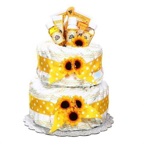 Alder Creek Burt's Bees Diaper Cake - Multi