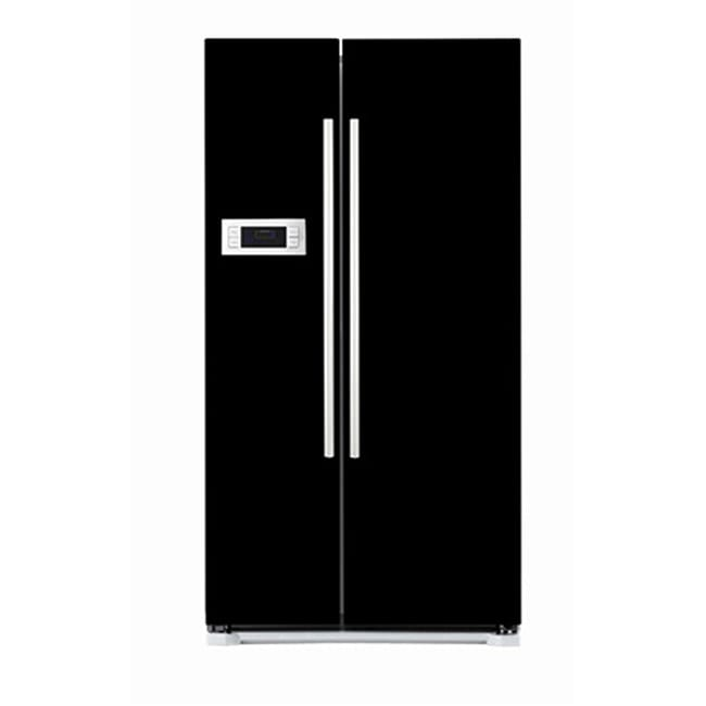 Appliance Art's Black Refrigerator Cover