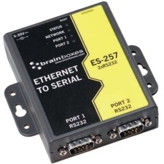 Brainboxes ES-257 Ethernet To Serial Device Server