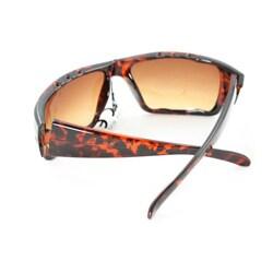 Men's Leopard Wrap Fashion Sunglasses