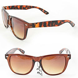 Unisex 972 Brown Leopard Fashion Sunglasses