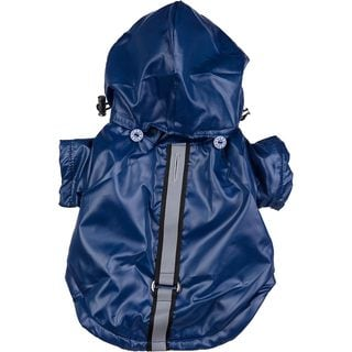 Pet Life Medium Hooded Dog Windbreaker