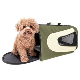 Pet Life Large Green Mesh Carrier