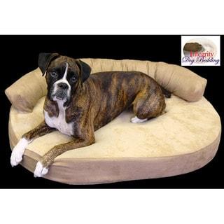 Medium Orthopedic Memory Foam Joint Relief Bolster Dog Bed