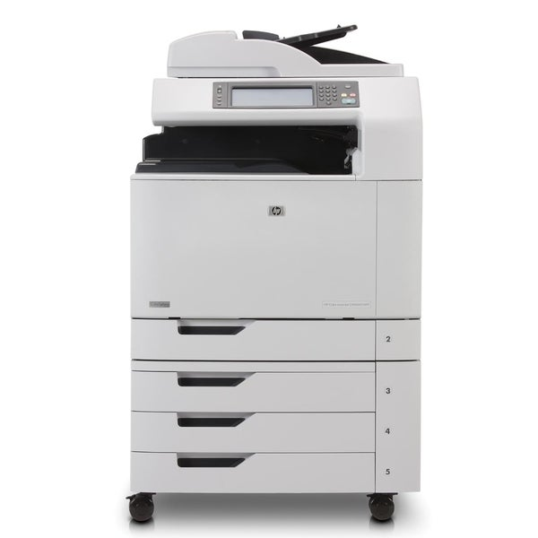 HP LaserJet CM6000 CM6040F Laser Multifunction Printer - Color - Plai