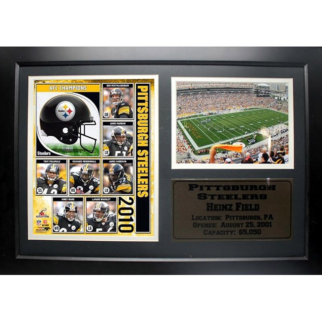 Encore Select 2010 AFC Champions Pittsburgh Steelers Deluxe Frame