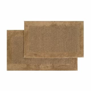 Ashland Cotton 2-piece Bath Mat Set - includes BONUS step out mat