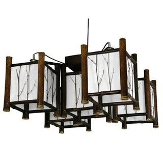 Handmade Bamboo Watashi Japanese-style 5-light Hanging Lantern (China)|https://ak1.ostkcdn.com/images/products/5671059/P13417658.jpg?impolicy=medium