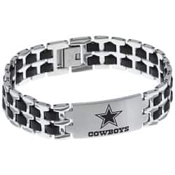 Stainless Steel Dallas Cowboys Logo Bracelet Ping The Best Deals On Men S Bracelets