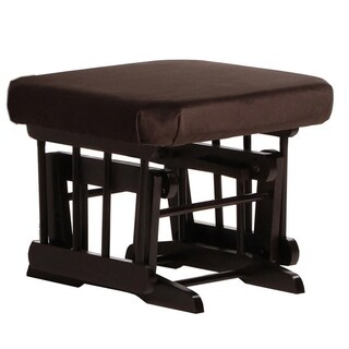 Dutailier Espresso/Chocolate Ottoman for Sleigh and Colonial Gliders