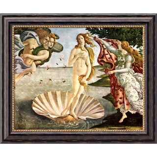 Sandro Botticelli 'The Birth of Venus' Framed Canvas Art
