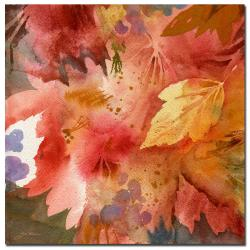 Sheila Golden 'Autumn's Shadows' Gallery-wrapped Canvas Art