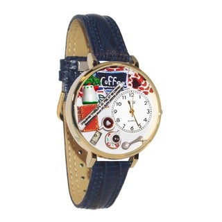 Whimsical Women's Coffee-Lover Theme Navy-Blue Leather-Strap Watch|https://ak1.ostkcdn.com/images/products/5672544/P13418818.jpg?_ostk_perf_=percv&impolicy=medium