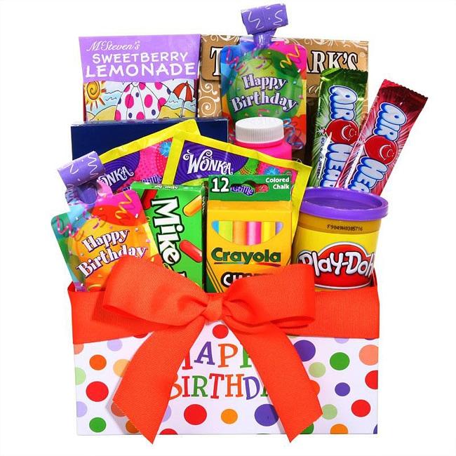 Alder Creek Children's Happy Birthday Gift Box