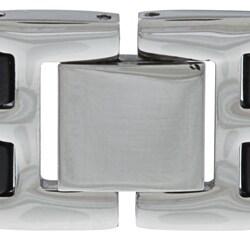 Stainless Steel New York Jets Logo Bracelet - Thumbnail 1