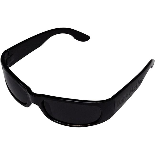 Men's Black Plastic/Poly Carbon Sport Sunglasses