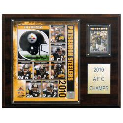 Pittsburgh Steelers 2010 AFC Champion Plaque - Thumbnail 0
