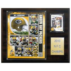 Green Bay Packers 2010 NFC Champion Plaque - Thumbnail 2