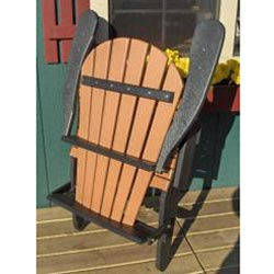 ... Forever Phat Tommy Two Tone Recycled Folding Adirondack Chair    Thumbnail 1 ...
