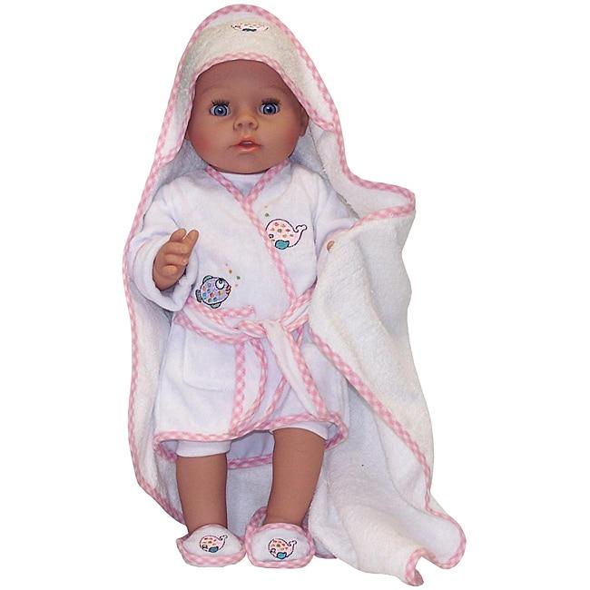 Molly P. Original 17-inch Mandy Bathing Doll in Terry Cloth Robe