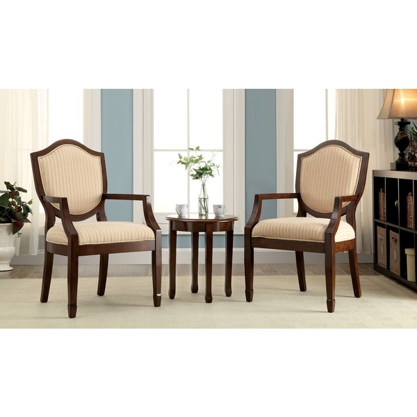 furniture of america caroline 3piece living room furniture set free shipping today