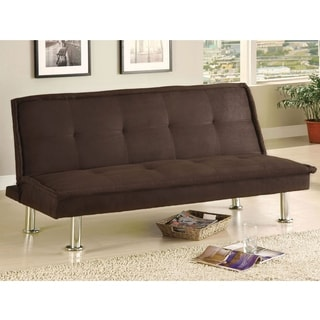 Furniture of America Brix Microfiber Youth Futon/ Sofa