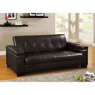 Milton Bi Cast Leather Sofa/ Sofabed