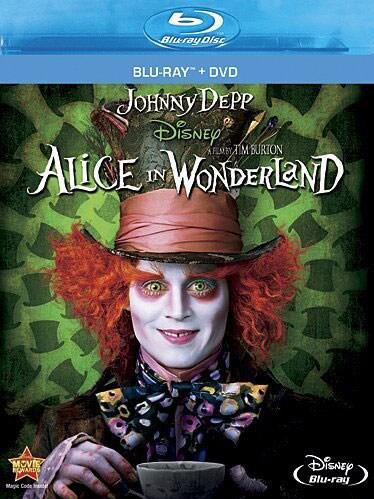 Alice In Wonderland (Blu-ray/DVD)
