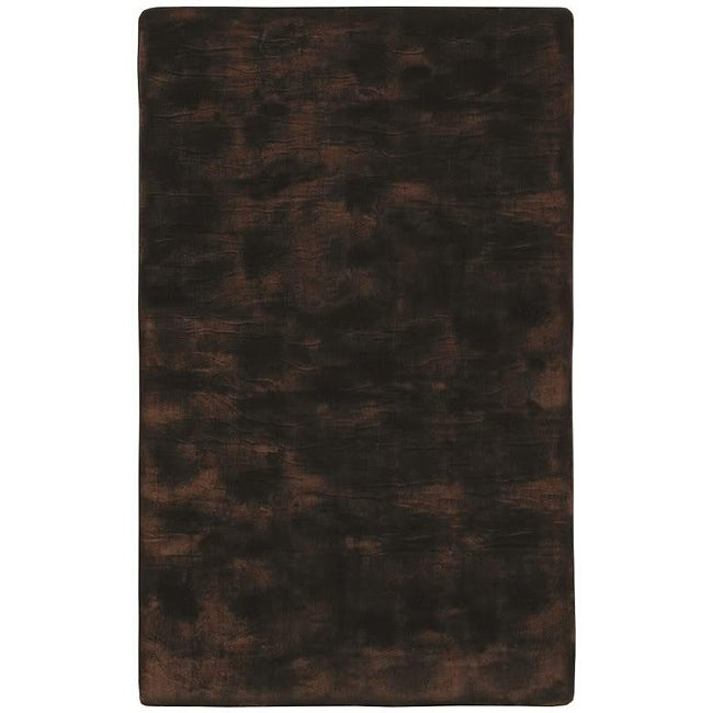 Faux Fur Brown/ Black Animal Rug (5'6 x 8'6)