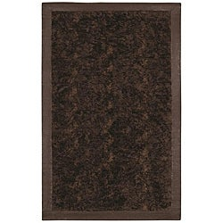 Faux Fur Brown/ Beige Animal Rug - 5' x 8' - Thumbnail 0