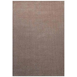 Hand-tufted Hard Twist Camel Wool Rug (5' x 8')