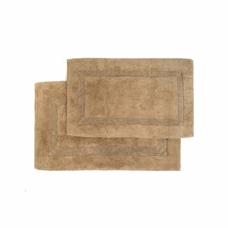 Nuevo Collection Cotton Non-skid Latex Backing 2-piece Bath Rug Set - Includes BONUS Step Out Mat|https://ak1.ostkcdn.com/images/products/5677350/P13422616.jpg?impolicy=medium