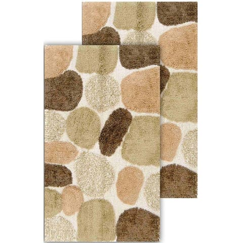 Chesapeake Pebbles 2pc Bath Rug Set