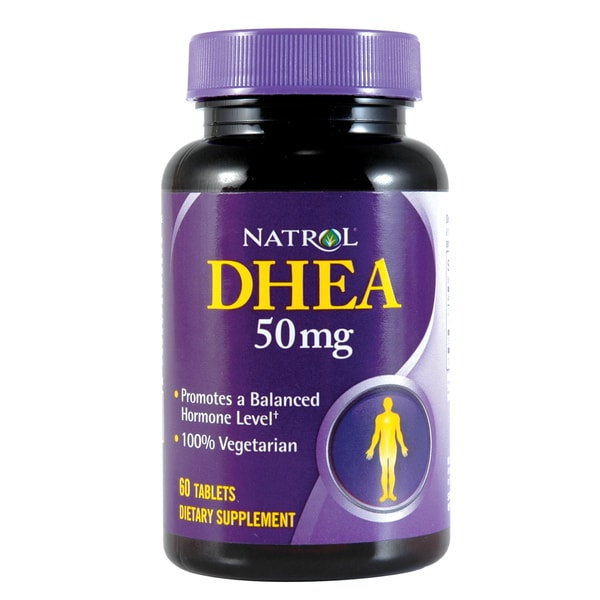 Natrol 50mg DHEA (60 Tablets)